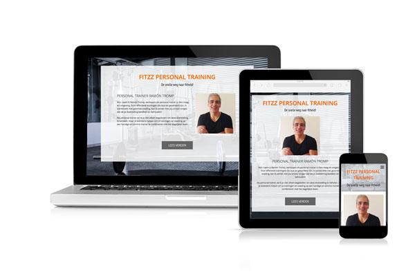 Goedkope website voor personal trainer