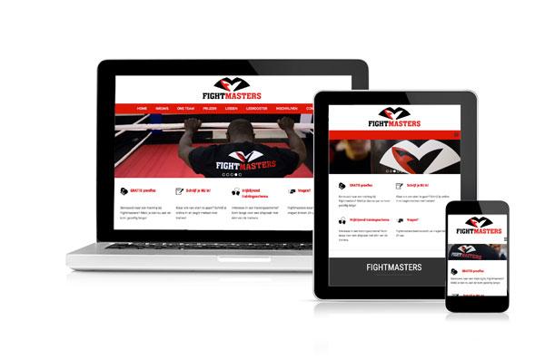 Voordelige website voor sportschool
