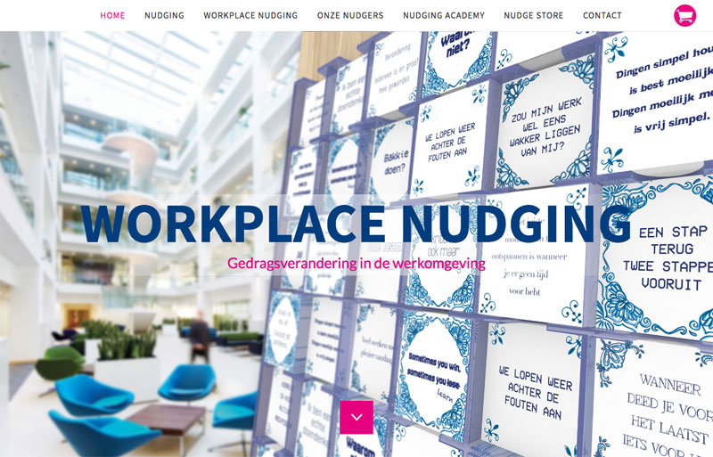 Kant-en-klare website Workplace Nudging